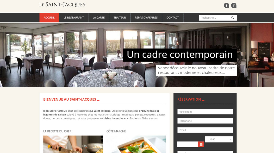 Restaurant le Saint Jacques